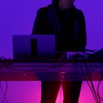 Lawrence English at MUTEK.SF 2019 at 906 World Cultural Center, by Jon Bauer