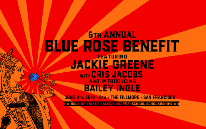 Jackie Greene to raise money for Blue Rose Foundation at the Fillmore