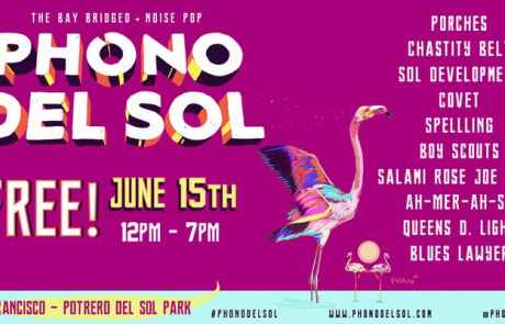 Don't forget: Phono del Sol is today!