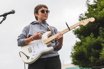 Boy Scouts at Phono del Sol 2019, by Ian Young