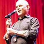 Todd Barry at Clusterfest 2019, by SarahJayn Kemp