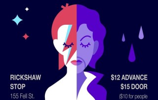 Prince and David Bowie Tribute