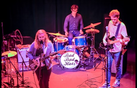 Review + Photos: Bad Bad Hats bring bubblegum folk to The New Parish