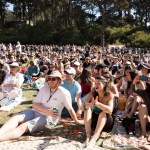 Crowd at Hardly Strictly Bluegrass 2019, by Ria Burman