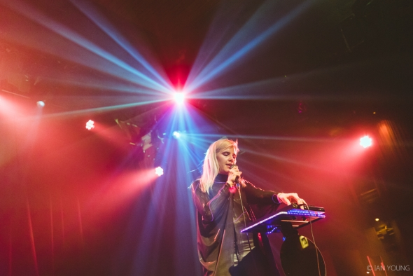 Claire George at the Independent, by Ian Young