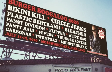 Burger Boogaloo 11 Revealed: July 11-12 with Bikini Kill and more
