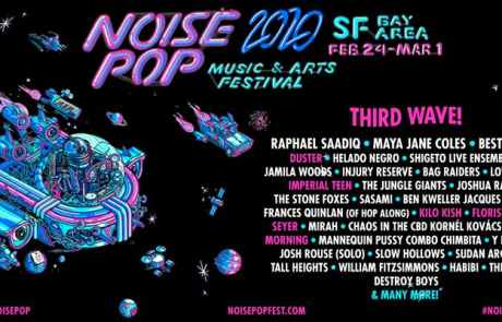 Noise Pop announces more shows and more jazz