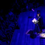 Laurie Anderson at SFJAZZ, by Jon Bauer