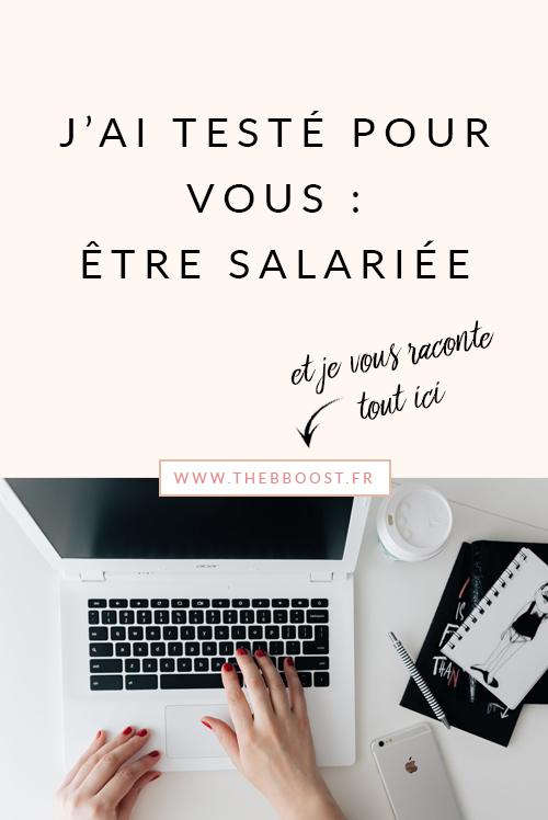 J'étais freelance, puis un jour j'ai décidé de tester le salariat ... mon retour d'expérience sur la question ! www.thebboost.fr #freelance #autoentrepreneur #ladyboss