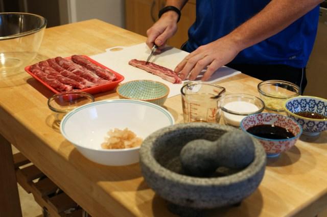 Kalbi Korean BBQ on the Big Green Egg