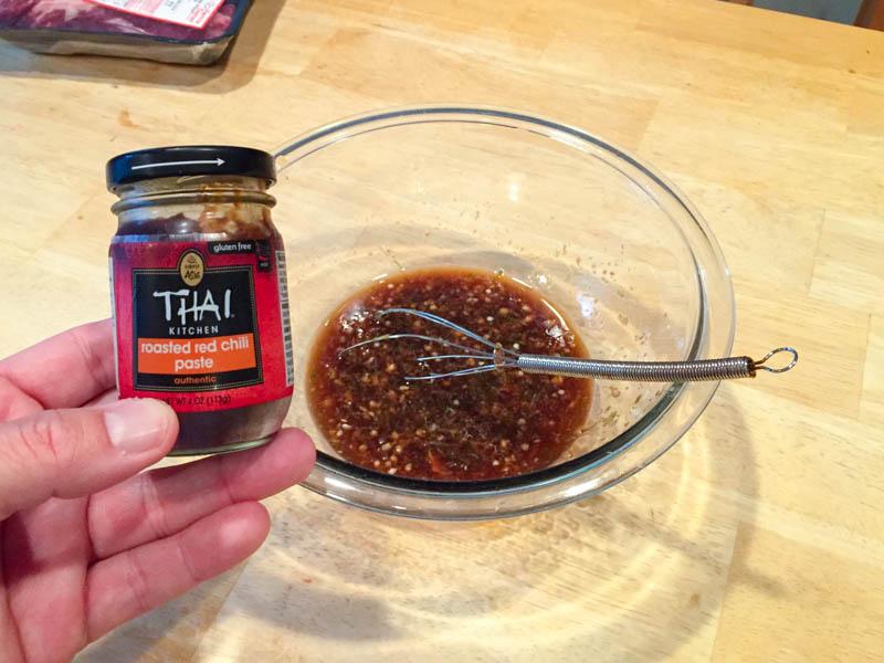 Big Green Egg Thai Marinated Trip Tip