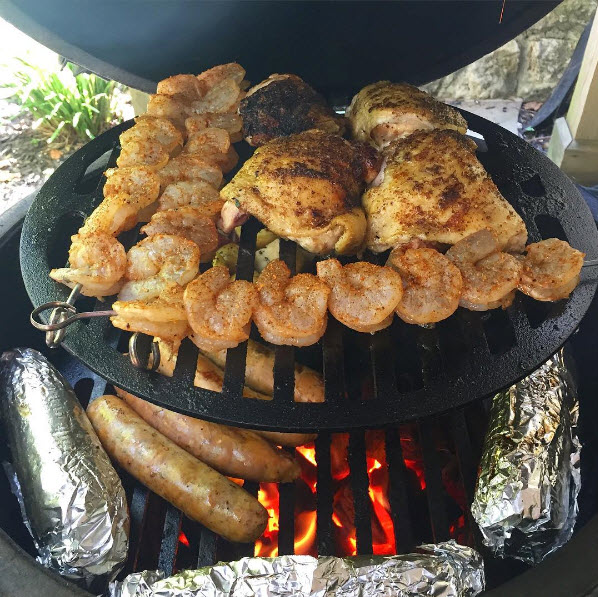 Big Green Egg Mixed Grill