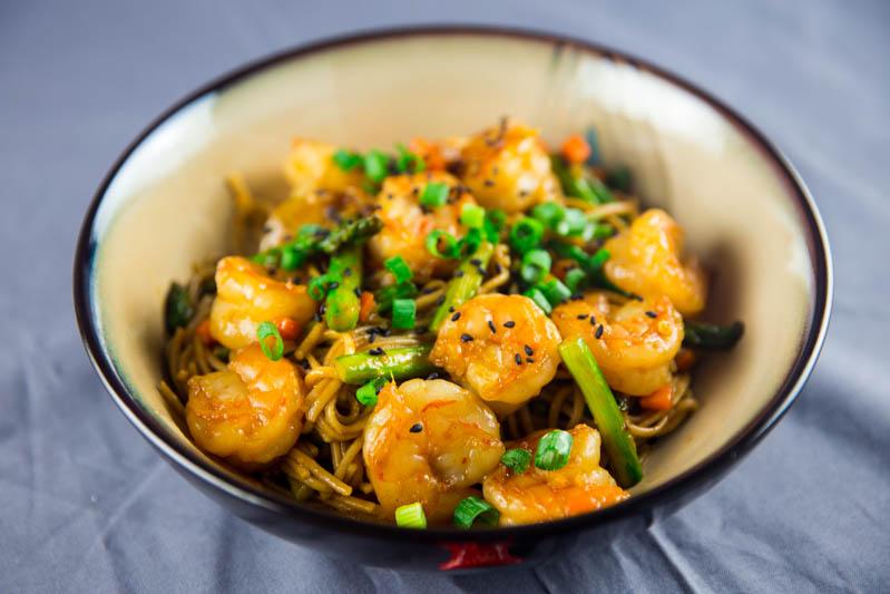 Shrimp Asparagus Stir Fry