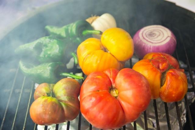 Farmers Market Smoked Salsa