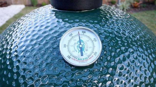 Big Green Egg at 450°