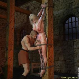 cruel bdsm crucified women quoom