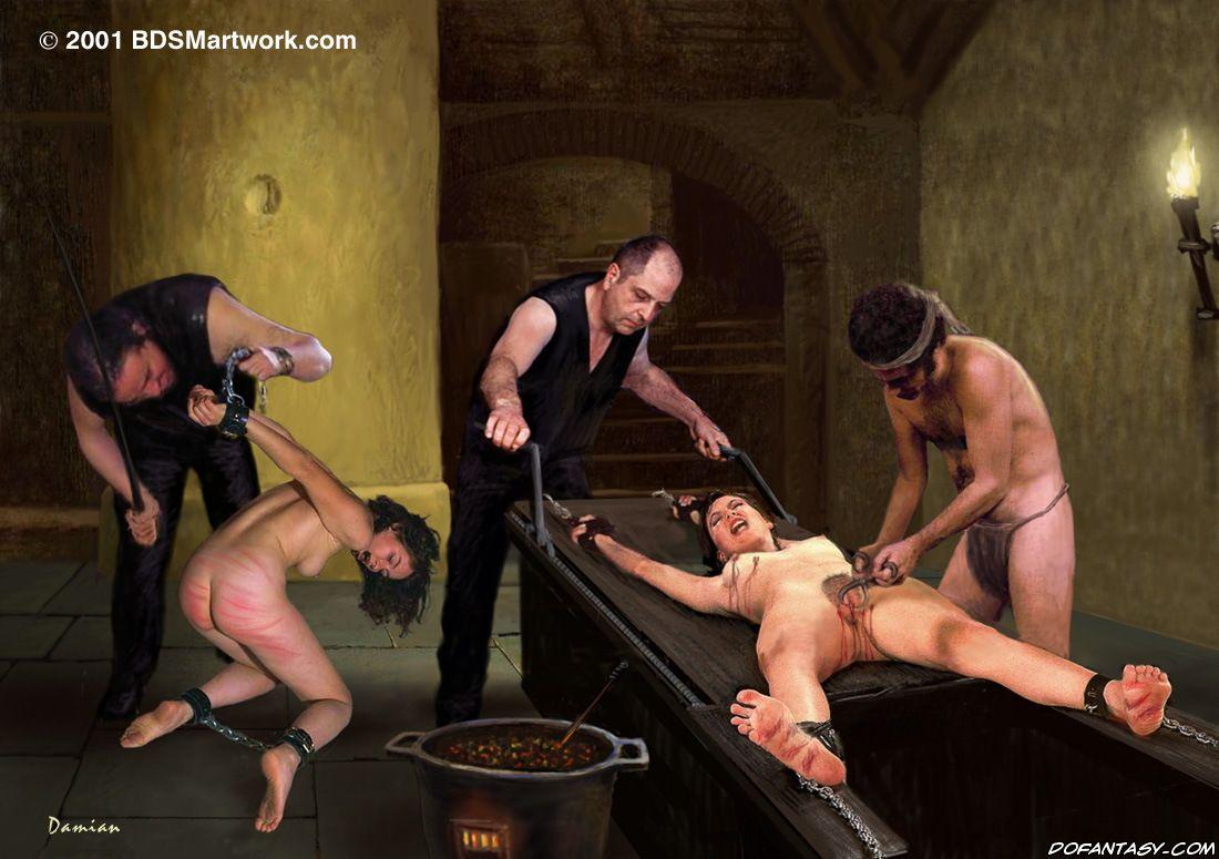 Порно Пытки Группой