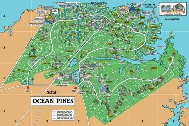 ocean pines map md homes estate