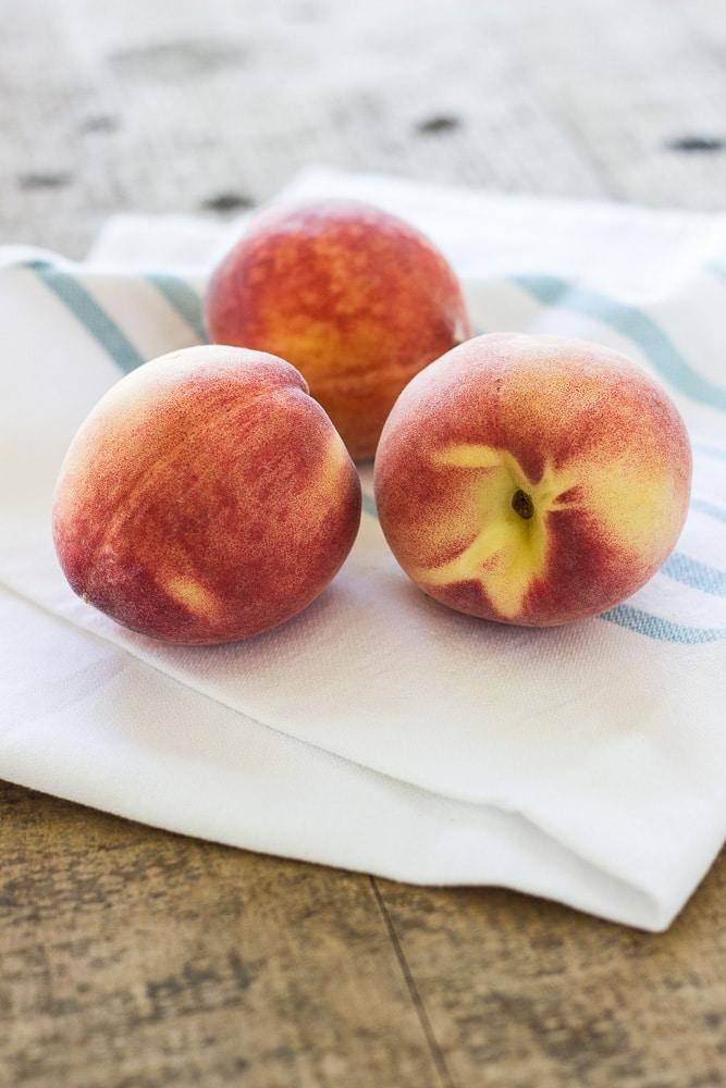 Bourbon-White Peach Popsicles