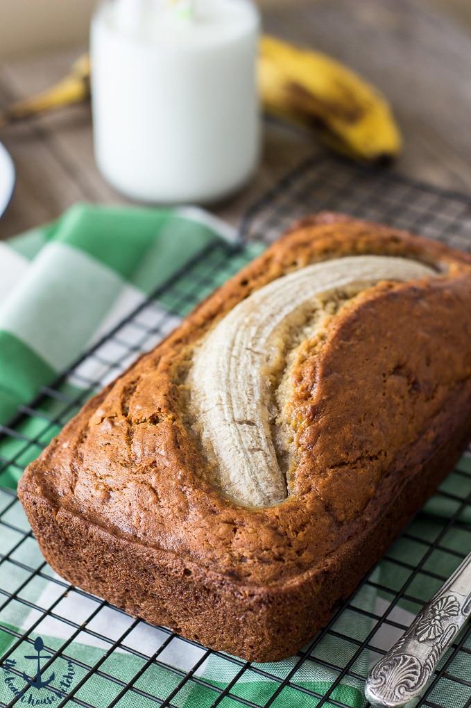 Easy Brown Butter Banana Bread