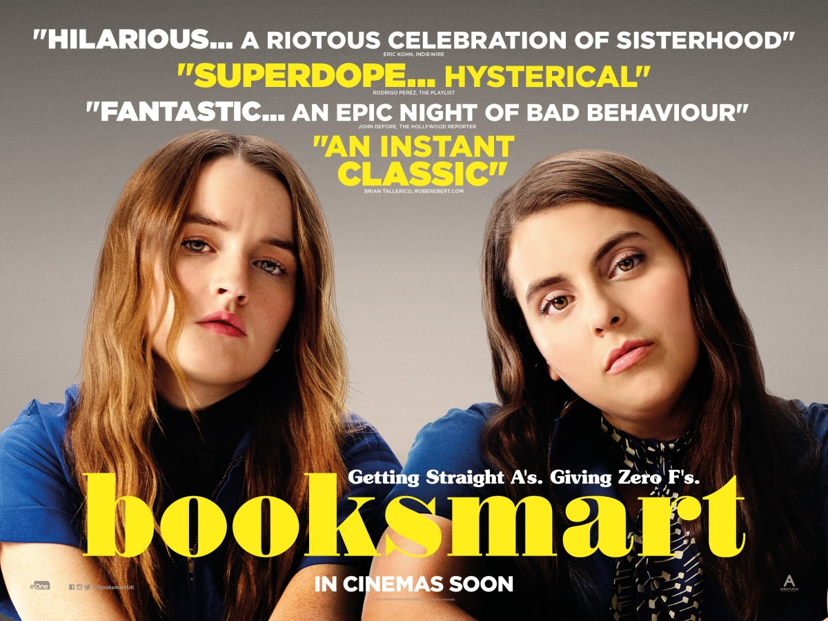 Booksmart Review – ★★★★★ – The Bear Cave