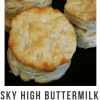 No Fail Buttermilk Biscuit
