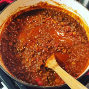 Tired of boring dehydrated meals? Whip up some of this delicious BBQ Spaghetti and save money. Plus it's way more delicious than any prepackaged spaghetti you can buy! It doesn't take a lot of time or energy. https://thebeardedhiker.com/bbqspaghetti