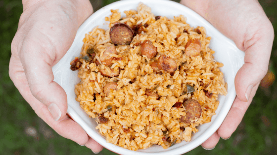 Hearty, satisfying, easy but most of all delicious backcountry jambalaya you can enjoy while on the trail!