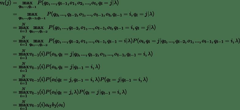 Hidden Markov Models Decoding