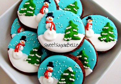 Christmas Cookie Decorating Icing
