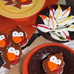Tom Turkey Cookies For Thanksgiving The Bearfoot Baker