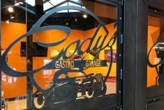 Cody's Gastro Garage Entrance