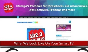 Smart TV view of The Beat Chicago