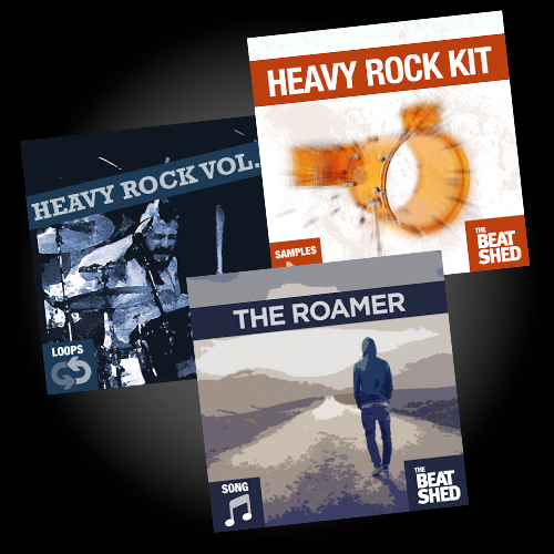 heavy rock drums