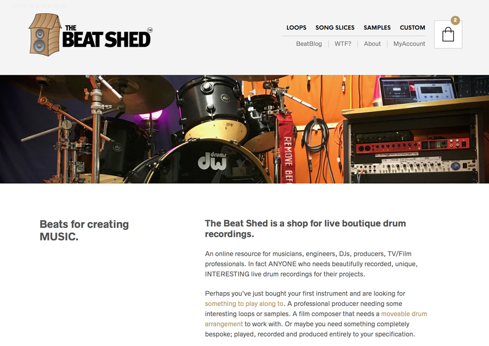 beat shed version 2