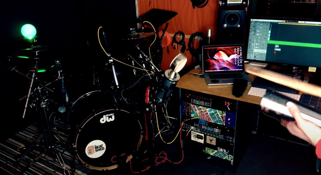 dancehall drum loop