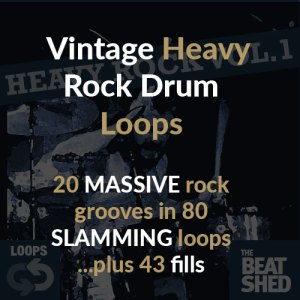 Heavy Rock Drum Loops