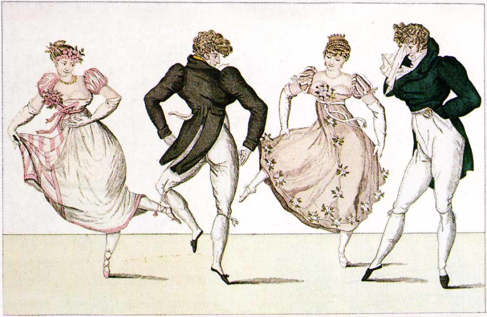 Beau Monde main page - two couple dancing