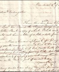 Duddingston letter