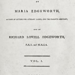 1798 First edition title page to Practical Education by Maria Edgeworth