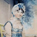 Maria Edgeworth by John Downman 1807