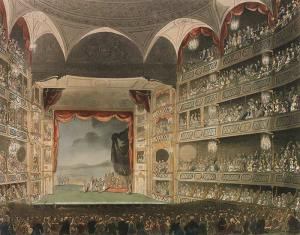 Drury Lane Theatre interior - 1808