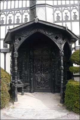 Plas Newydd Doorway