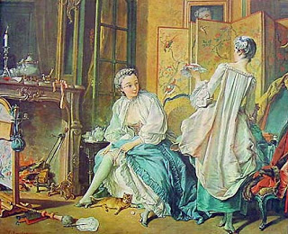 Boucher's Painting La Toilette