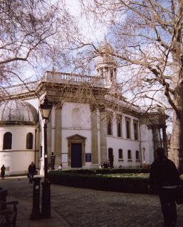 Photo of the exterior of St. Marylebone Parish Church