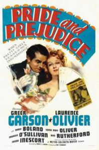 DVD Cover of Pride and Prejudice 1940