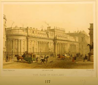 Print of Bank of England exterior