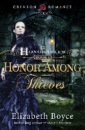 Cover for Honor Among Thieves by Elizabeth Boyce