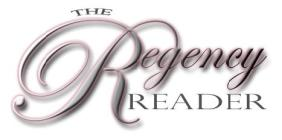 The Regency Reader newsletter logo