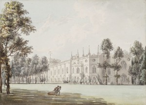 Strawberry Hill by Paul Sandby, courtesy Wikipedia